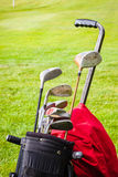 Set of golf clubs Royalty Free Stock Photos