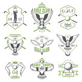 Set of Golf Logo, Labels and Emblems Stock Photo