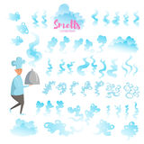 Set with good smells. Stock Images