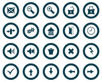Set of gothic icons Stock Images