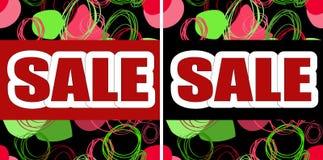 Set graficzne ilustracje dla sprzedaży Fotografia Stock