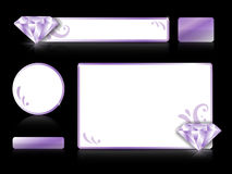Set graficzni elementy Fotografia Stock