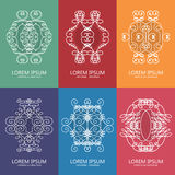 Set of graphical design elements. Royalty Free Stock Photography