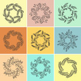Set of graphical design elements. Royalty Free Stock Photo