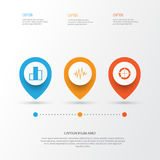 Set Of Graphs, Diagrams And Statistics Icons. Premium Quality Symbol Collection. Icons Can Be Used For Web, App And UI. Set Of Graphs, Diagrams And Statistics Royalty Free Stock Images