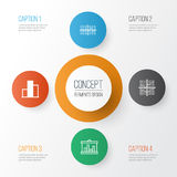 Set Of Graphs, Diagrams And Statistics Icons. Premium Quality Symbol Collection. Icons Can Be Used For Web, App And UI. Set Of Graphs, Diagrams And Statistics Stock Photo