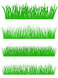 Set of Grass Stock Image