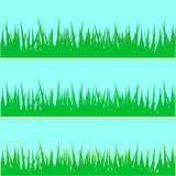 Set of grass.   illustration Royalty Free Stock Photo