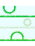 Set of grass.   illustration Royalty Free Stock Images