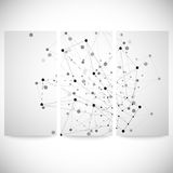 Set of gray backgrounds for communication, Stock Photo