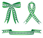 Clover Ribbons Stock Photos