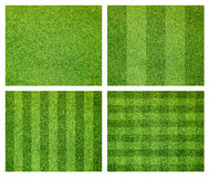 Set of green grass background Stock Photo