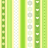 Set green ribbon. Royalty Free Stock Photo