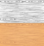 Set of grey and brown wooden planks, wall. Cutting or chopping boards. Wood texture Stock Images