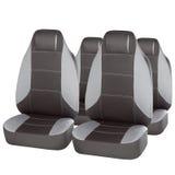 Set of grey car seats Royalty Free Stock Photos