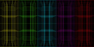 A set of grid perspective elements for the design of banners and. Backgrounds. Fabric and metallic pattern for design Royalty Free Stock Image