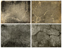 Set grunge background Royalty Free Stock Photos