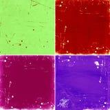 Set of grunge backgrounds. Set of color grunge backgrounds, illustration Royalty Free Stock Images
