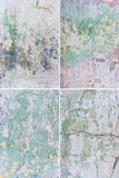 Set of grunge backgrounds stock photography