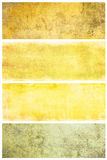 Set of grunge backgrounds with space for text Royalty Free Stock Photo