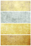 Set of grunge backgrounds with space for text Royalty Free Stock Photography