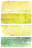 Set of grunge backgrounds with space for text Royalty Free Stock Photos