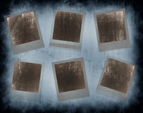 Set of grunge frames Royalty Free Stock Photography
