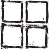 Set of grunge frames. Vector illustration Stock Photo