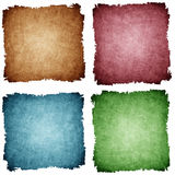 Set of grunge paper background with space for text.  Royalty Free Stock Photo