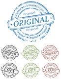 Set of Grunge Stamps Royalty Free Stock Image
