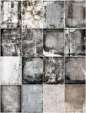 Set grunge texture Stock Images