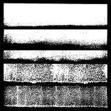 Set of grunge textures. Vector illustration. vector illustration