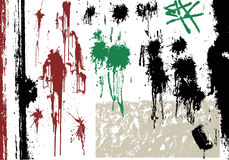 Set Grunge vector design. Stock Images
