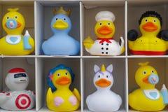 Set guma nurkuje bardzo, retro zabawkarska moda w rzeczywistości obrazy royalty free