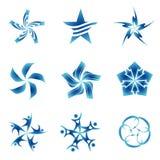set gwiazdy Fotografia Stock