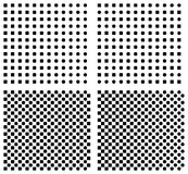 Set Halbtonhintergrund Stock Abbildung