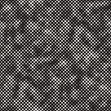 SET 50 Halftone Circles Grids Invert. Modern Stylish Halftone Texture. Endless Abstract Background With Random Size Circles. Vector Seamless Mosaic Pattern vector illustration