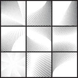 Set of halftone dots Stock Photography