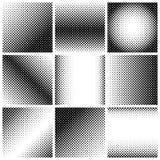 Set of halftone Stock Photos