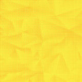 Set of Halftone Dots. Dots on Yellow Background Royalty Free Stock Photos