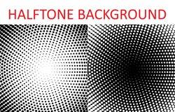 Set of halftone pattern texture. Retro background for posters, sites, business cards, postcards, interior design. Vector illustration Vector Illustration
