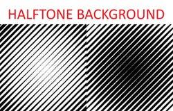 Set of halftone stripes pattern texture. Retro backdrop for posters, sites, business cards, postcards, interior design. Vector illustration Stock Illustration