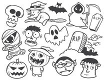 Halloween cartoon Stock Image