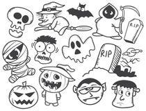 Halloween cartoon Stock Image