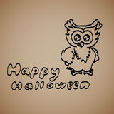 Set Of Halloween on a dark background. Stock Photos