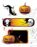 Set of Halloween elements Stock Image