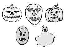 Set of Halloween Stock Photos