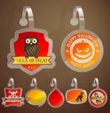 Set of Halloween stickers. Stock Photos