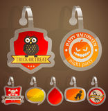 Set of Halloween stickers Stock Photo