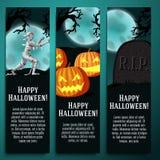 Set Halloween sztandary z mamusią, dźwigarka o ilustracji